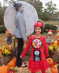 Bubblegum Machine and Nickel Costume
