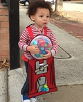 Bubblicious Gumball Machine Costume