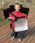 Bulldozer Rampage Transformer Costume