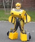 Bumblebee and Bulkhead Transformers Costume