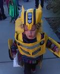 Bumblebee Transformer Costume