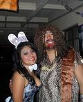 Bunny & Caveman Costume