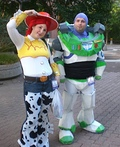 Buzz Lightyear and Jessie Costume