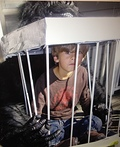 Caged Boy Costume