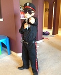 Calgary Police Service Costume