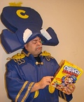 Cap'n Crunch Costume