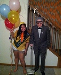 Carl and Russell from the movie UP Costume