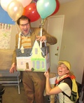Carl Fredricksen, Russell, and Doug Costume