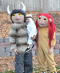 Where the Wild Things Are Carol, KW, and Max Costume