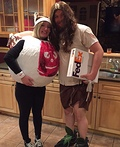 Castaway Couple Costume