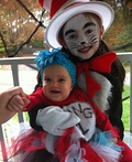 Cat in the Hat and Thing 1 Costume