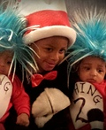 Cat in the Hat & Thing1 & Thing 2 Costume