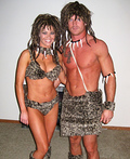 Cave Man and Cave Girl Costume
