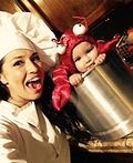 Chef Mama & Live Lobster Costume