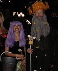 Chese Wiz and Sand Witch Costume