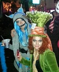 Cheshire Cat & Mad Hatter Costume