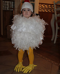 Chick Chick Costume