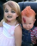 Chucky and his Bride Costume