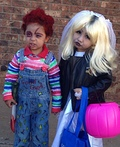 Chucky and Tiffany Bride Costume