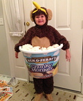 Chunky Monkey Ice Cream Costume