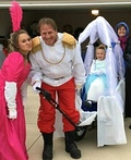 Cinderella and Family Costume