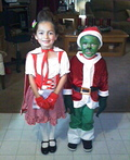 Cindy Lou and the Grinch Costume