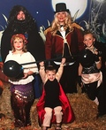 Circus Freak Show Family Costume