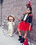 Circus Ringmaster Lion Tamer Costume