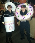 Coffee and Donuts Costume