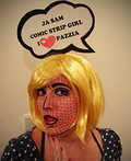 Comic Strip Girl Costume