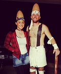 Connie and Beldar Coneheads Costume