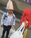 Connie Conehead Costume