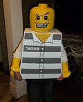 Convict Lego Costume