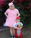 Cotton Candy and Gumball Machine Costume
