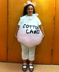Cotton Candy Bag Costume
