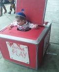 Creepy Jack-in-the-Box Costume