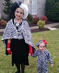 Cruella and her Puppy Costume