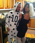 Cruella Deville and 101 Dalmatians Costume