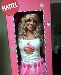 Cupcake Barbie Costume