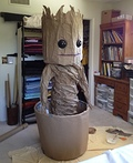 Dancing Baby Groot Costume