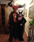 Lord of Darkness and Maleficent Costume
