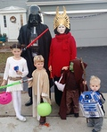 Darth Vader Family Costume