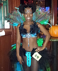 Dazzling Pretty Peacock Costume