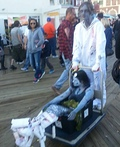 Dead Sailor and Toxic Waste Siren Costume