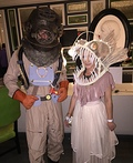 Deep Sea Diver and Angler Fish Costume