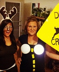Deer in Headlights Costume