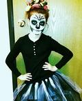 Dia De Los Muertos Sugar Skull Costume