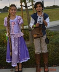 Disney's Tangled Rapunzel and Flynn Rider Costume