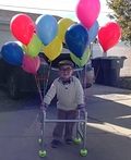 Disney's UP Old Man Costume