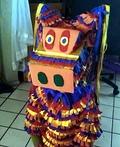 The Walking Piñata Costume